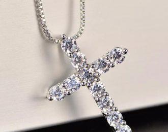 Sterling Silver Cross Chain